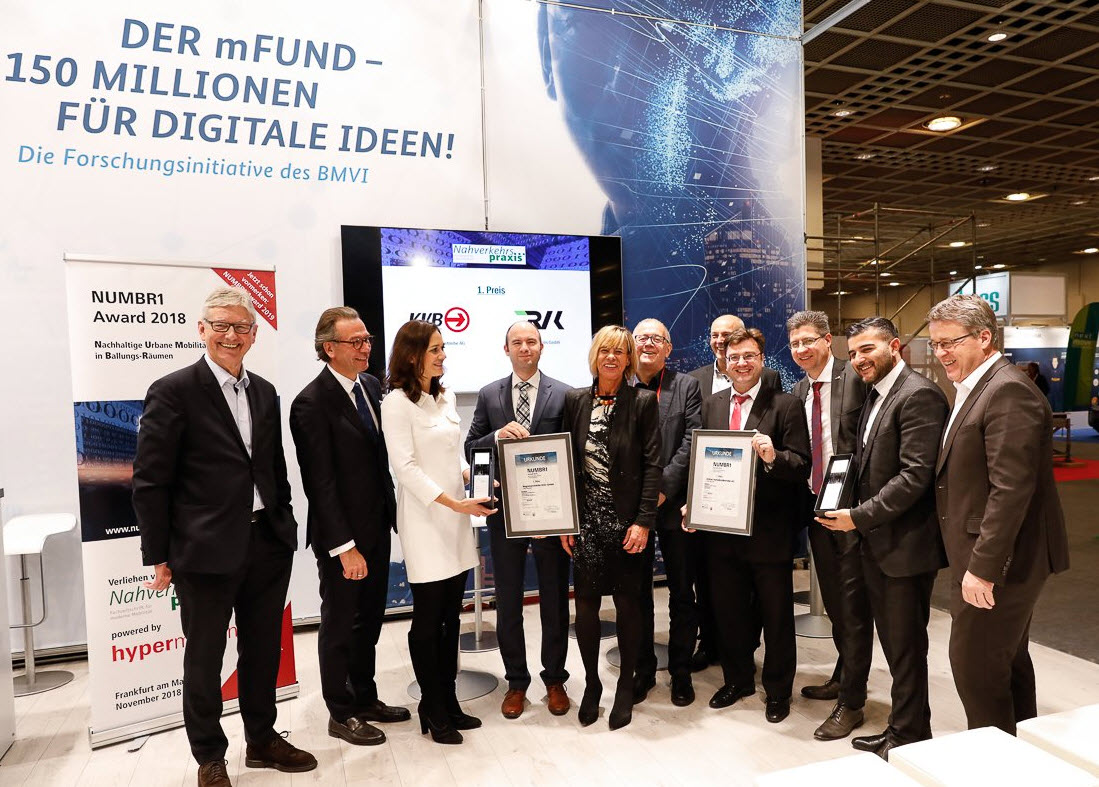Gewinner des NUMBR1 Awards 2018