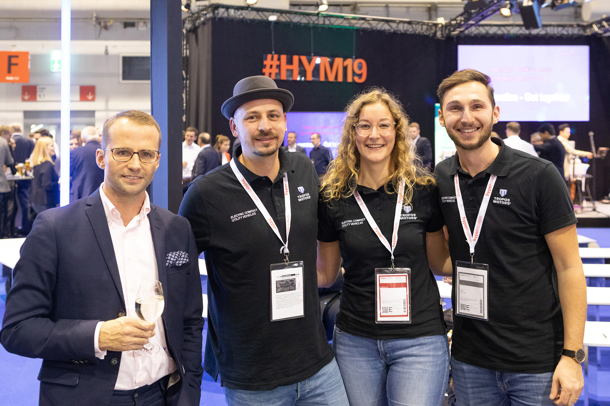 Hypermotion 2019, Messe Frankfurt, Germany