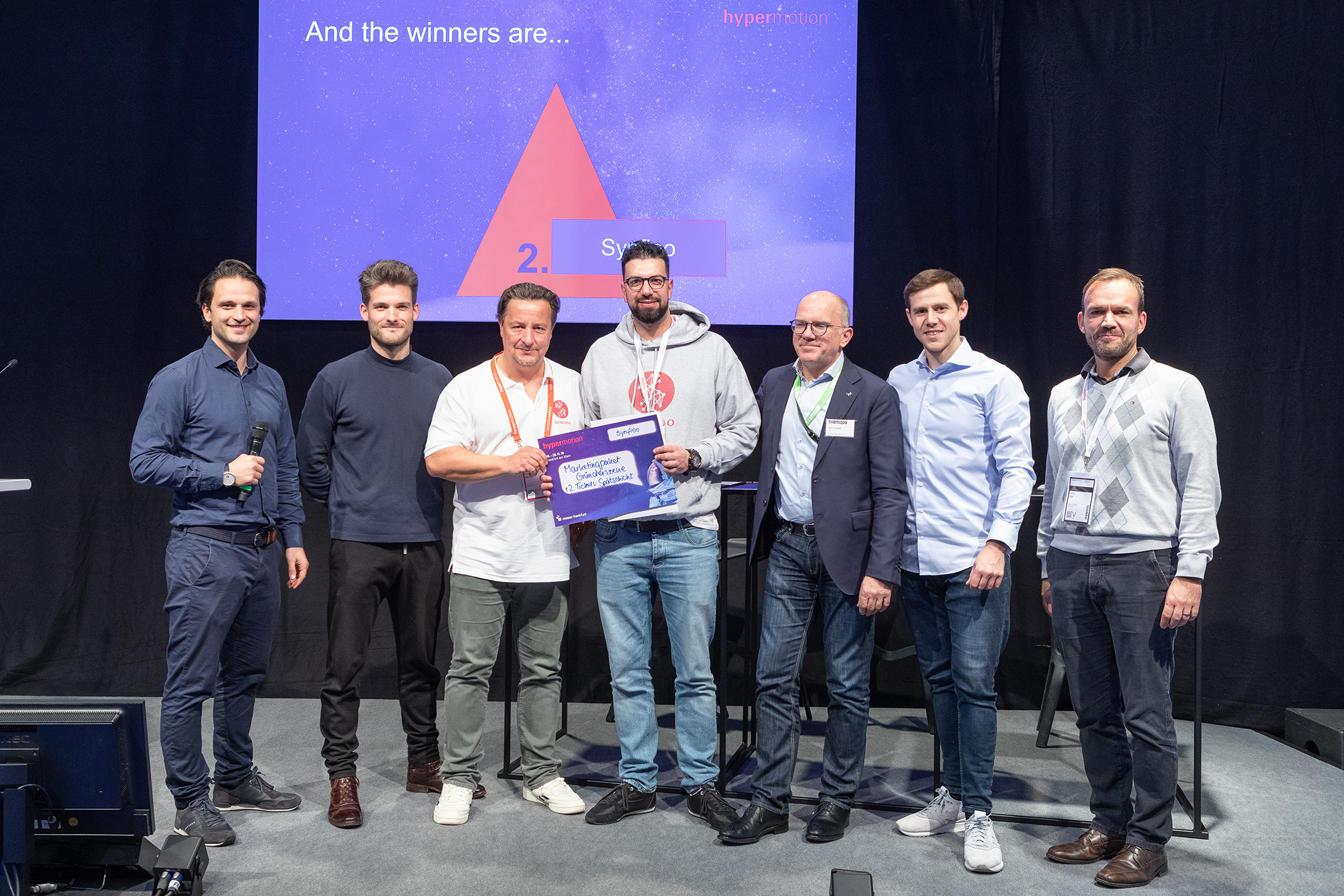 Start-Up Pitches Award, 2. Gewinner Synfioo