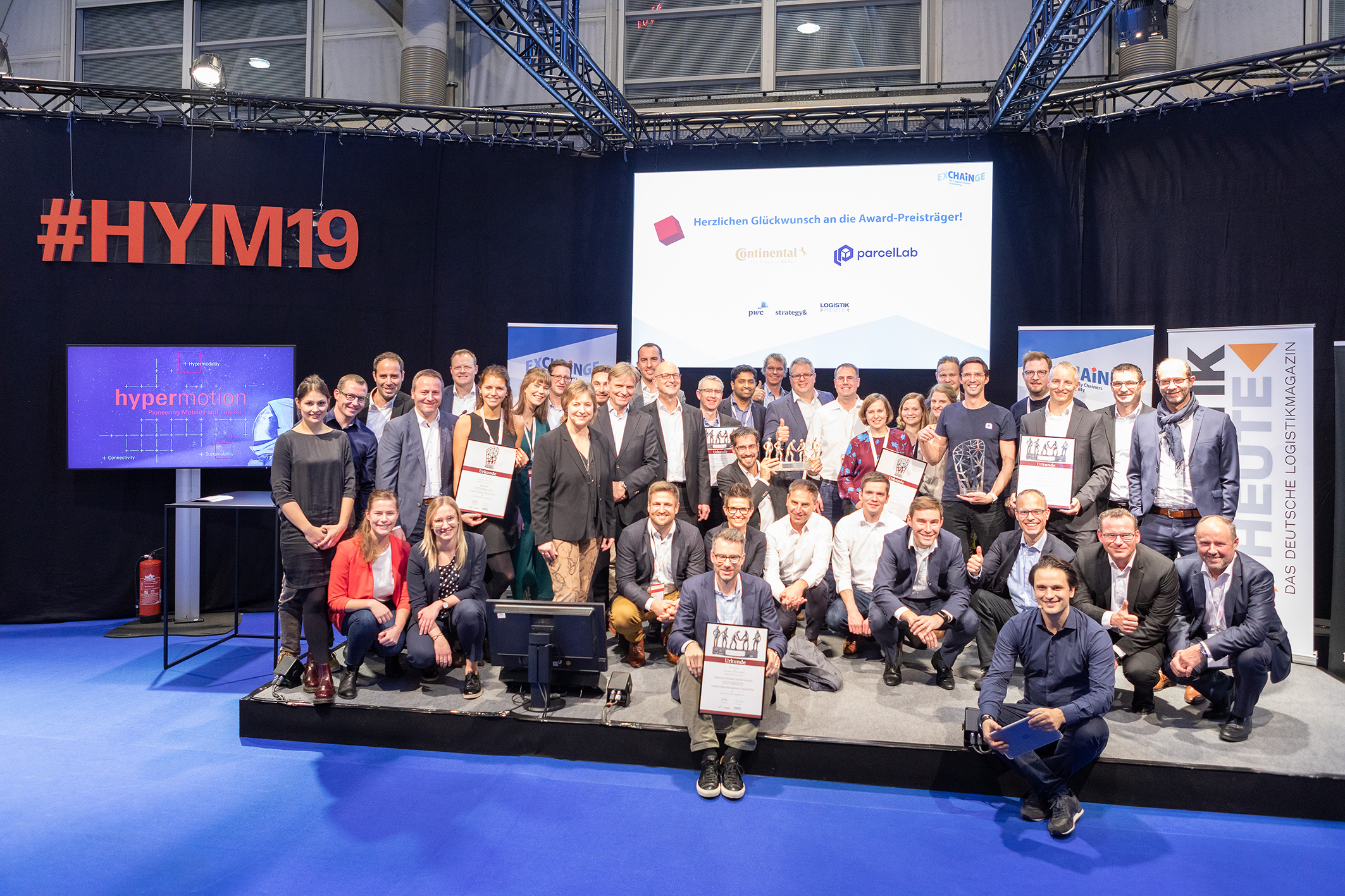 Supply Chain Management Award, Gruppenbild aller Nominierten
