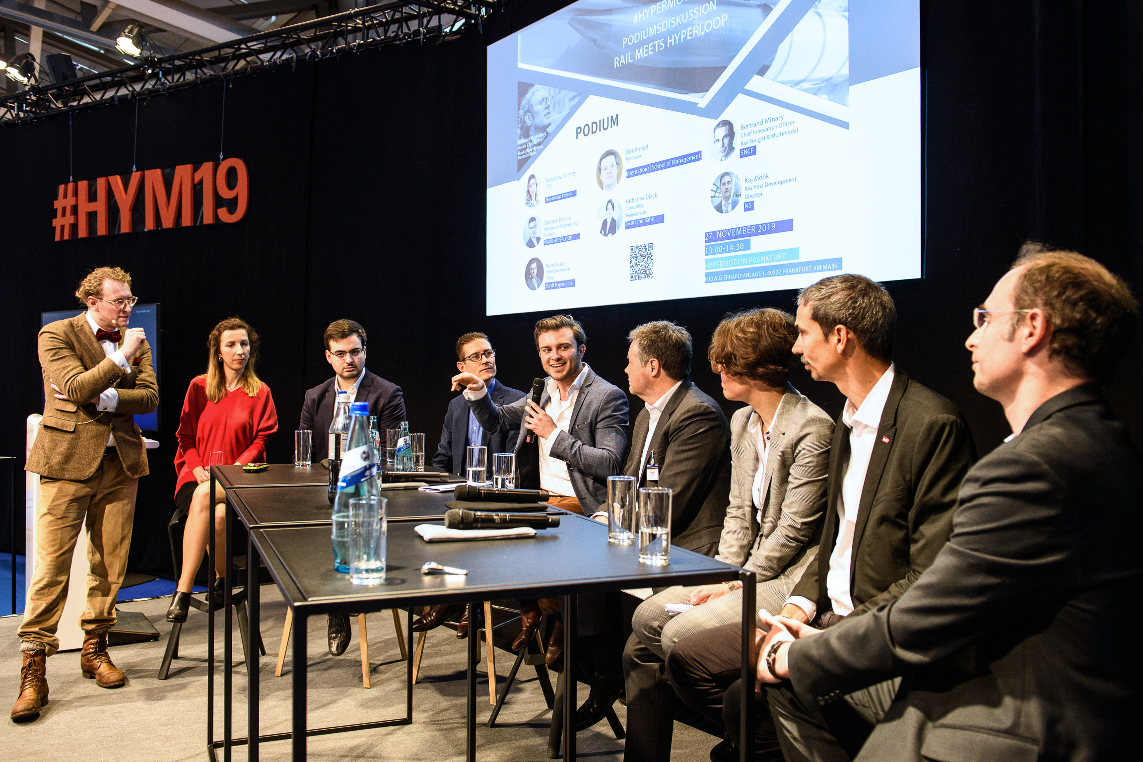 Podiumsdiskussion / Panel discussion: Rail meets Hyperloop