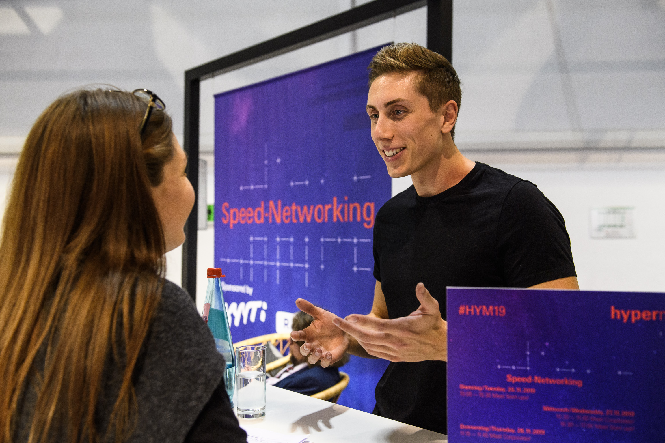 Speed-Networking, Meet Start-ups