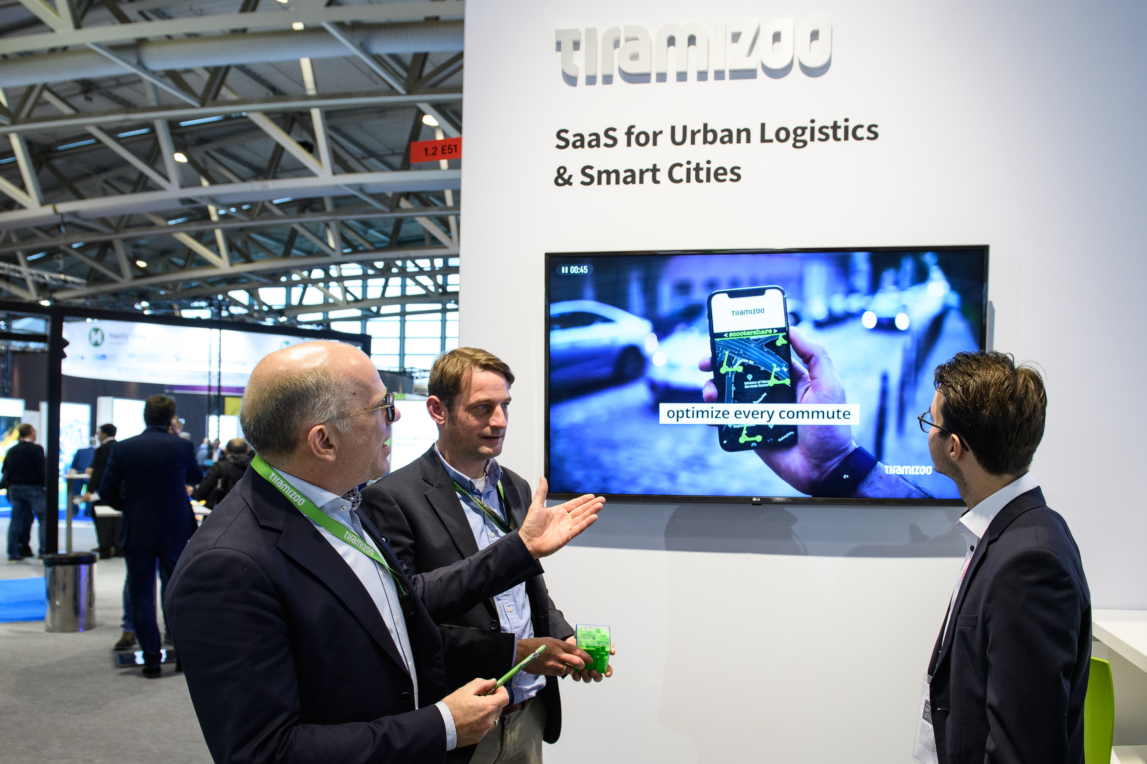 SaaS für urbane Logistik + Smart Cities / SaaS for urban logistics + smart cities