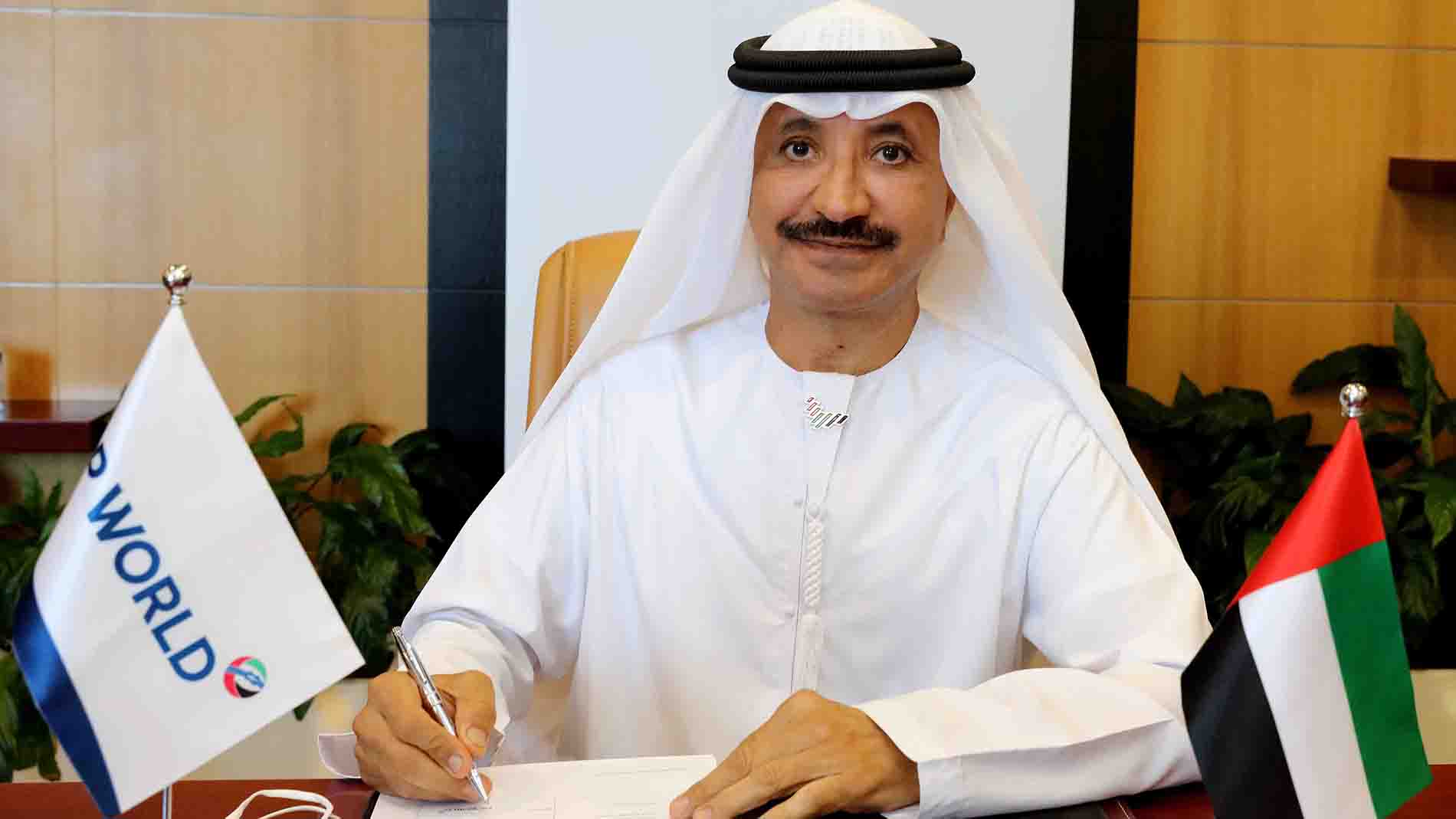 H.E. Sultan Ahmed Bin Sulayem, Group Chairman and CEO at DP World