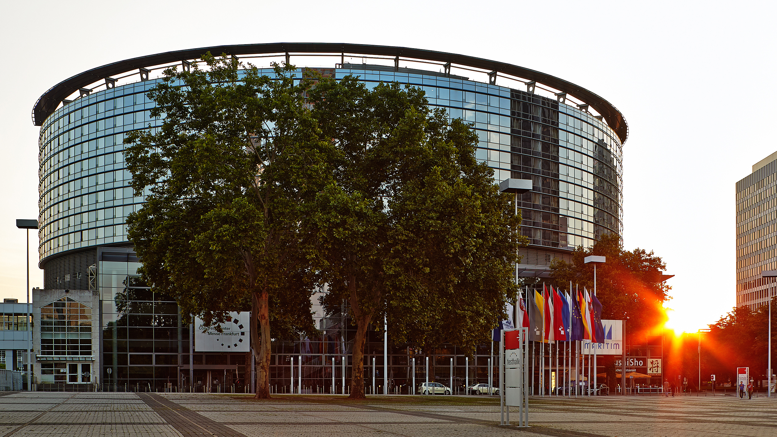 Außenansicht Congress Center